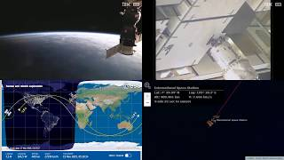 Evening Over The Pacific - NASA/ESA ISS LIVE Space Station With Map - 573 - 2019-03-19
