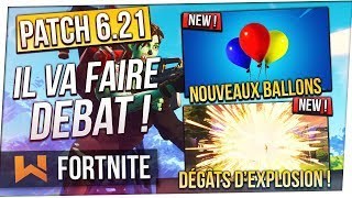 Update 6.21: Small Patch, Big Changes! Balloons, Gliders, Explosives... Fortnite
