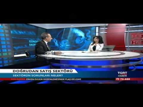 QNET Türkiye Genel Müdürü Cem Geyik TGRT Haber Programı