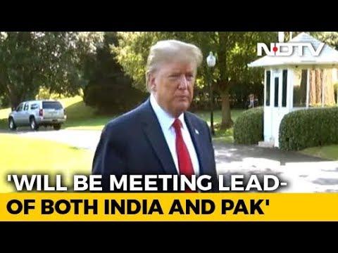 'Lot Of Progress Made': Donald Trump Says Will Meet PM Modi, Imran Khan