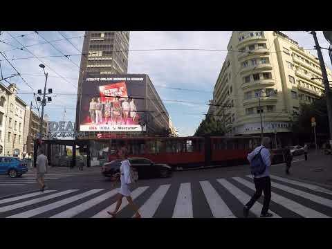 Serbia Belgrade City center, Gopro / Serbie Belgrade Centre ville, Gopro