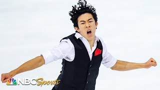 Nathan Chen soars to first place after short program in Grenoble   NBC Sports