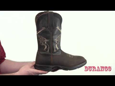 Rebel By Durango Crossed Guns Western Boot Style# - DDB0077