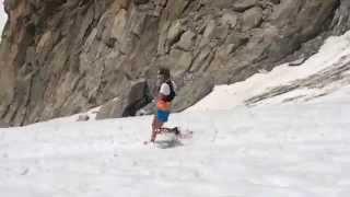 Kilian Jornet - Emelie Forsberg in Mont Blanc