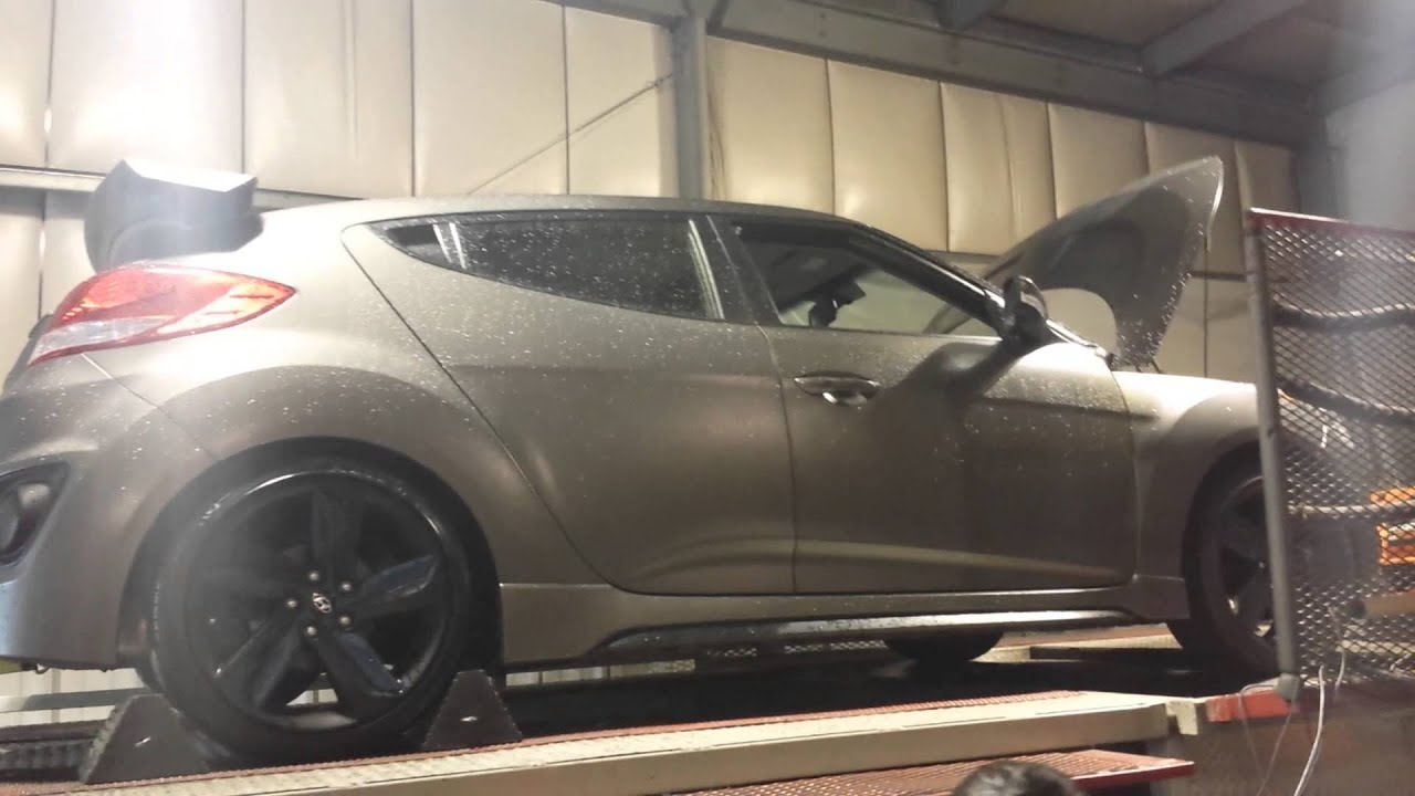 Veloster Turbo Tuned Dyno Pulls