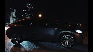 BMW X6M Evotech st 3. Первый выезд на смотру после глубокого то и тюнинга )