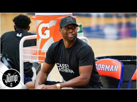 NBA stars like Dwyane Wade and Chris Paul are wearing 'Cassy Athena' shirts -- here's why | The Jump