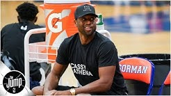 Dwyane Wade and Chris Paul are wearing 'Cassy Athena' shirts -- here's why | The Jump