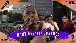 JHONY DESAFIA OS JURADOS DA ALDEIA | INTERESTADUAL ll | Barueri | SP thumbnail