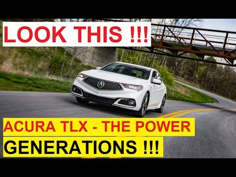 Look This, 2018 Acura TLX Gateway Acura Dealers TLX A-Spec Luxury Car