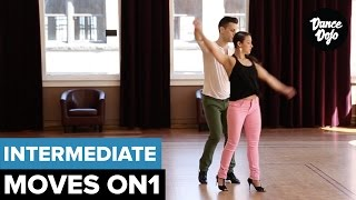 Semi Circle - Intermediate Salsa Moves | TheDanceDojo.com