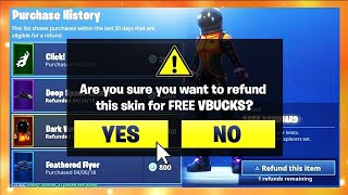 *NEW* UNLIMITED REFUNDS in FORTNITE SEASON 7!! (How TO Get MORE REFUNDS in Fortnite Working 2019)