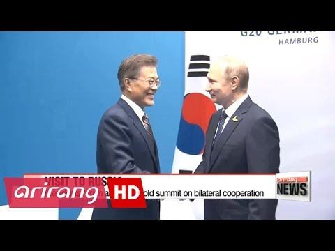President Moon holds summit with Russian President Putin