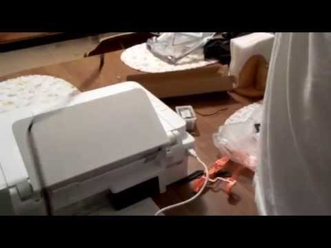 Professor V's Cannon Printer Pixma MG2520 Setup and Installation Open Box Part 1 of 3