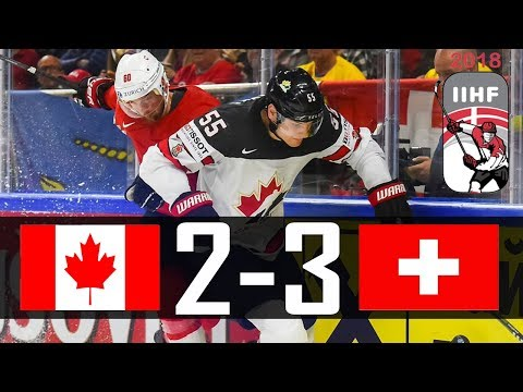Canada vs Switzerland | 2018 IIHF Worlds Highlights | May. 19, 2018