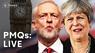 PMQs LIVE: May faces Corbyn amid Brexit delay request