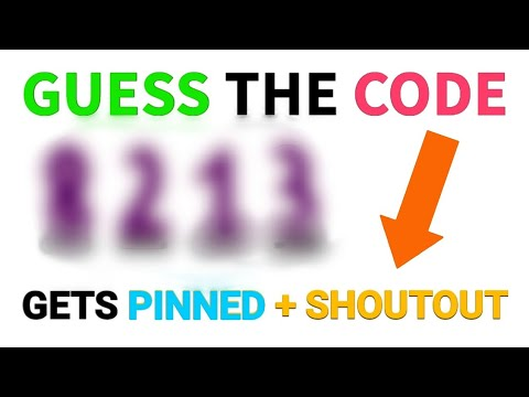 *FIRST PERSON* to Guess the Code GETS...