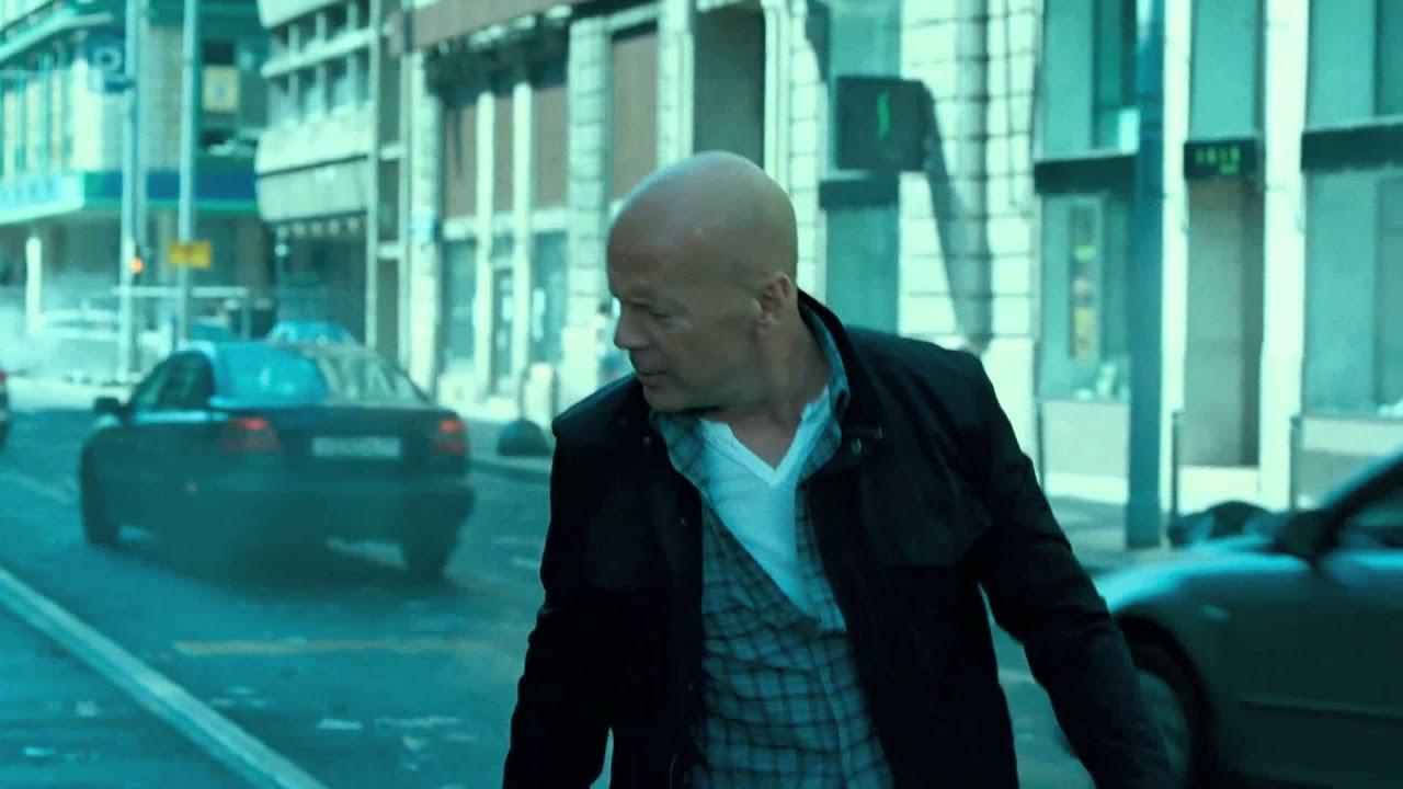 Stirb Langsam Ein Guter Tag Zum Sterben First Look Verfolgung Durch Moskau 2013 Bruce Willis