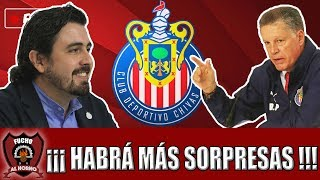 Esto Apenas Comienza: Vergara Promete Más Sorpresas En Chivas Pese a Ya Tener 8 Refuerzos Firmados.