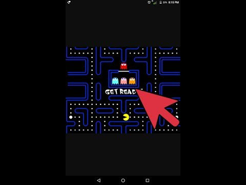 Pac man latest version game on Google play games.