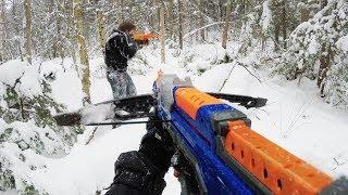Nerf War: First Person Shooter Winter War