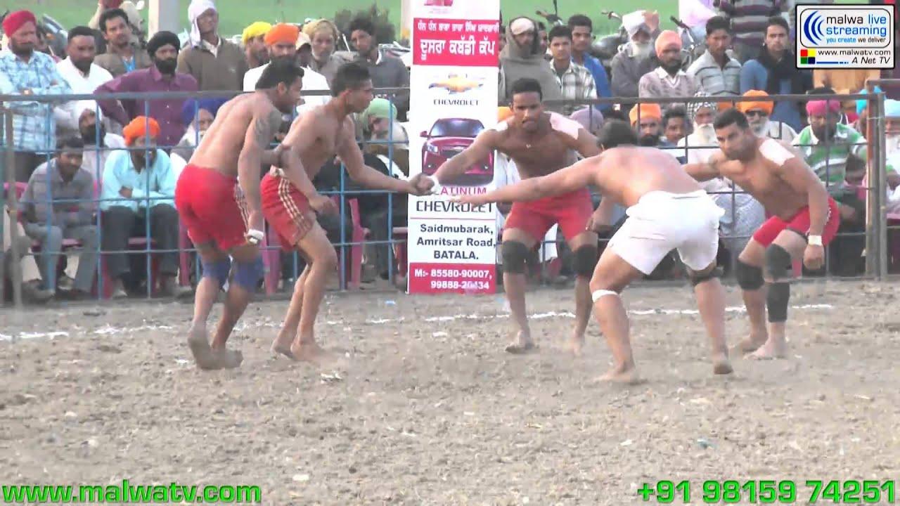 HARCHOWAL (Gurdaspur) Kabaddi Cup - 2014. Part 2nd.