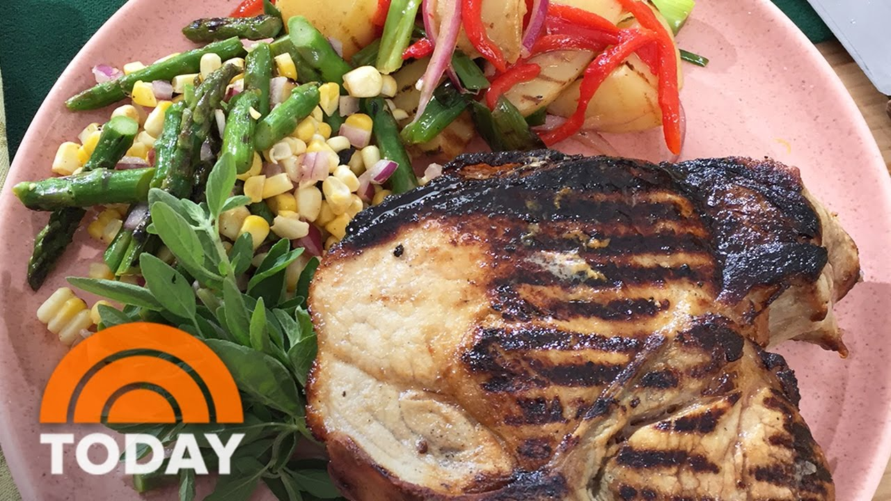 Grilled Buttermilk Brined Pork Chops Get The Mouth Watering Recipe