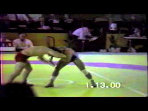 1990 Senior Greco World Championships: 74 kg Gordy Morgan (USA) vs. Mnatsakan Iskandaryan (USSR)