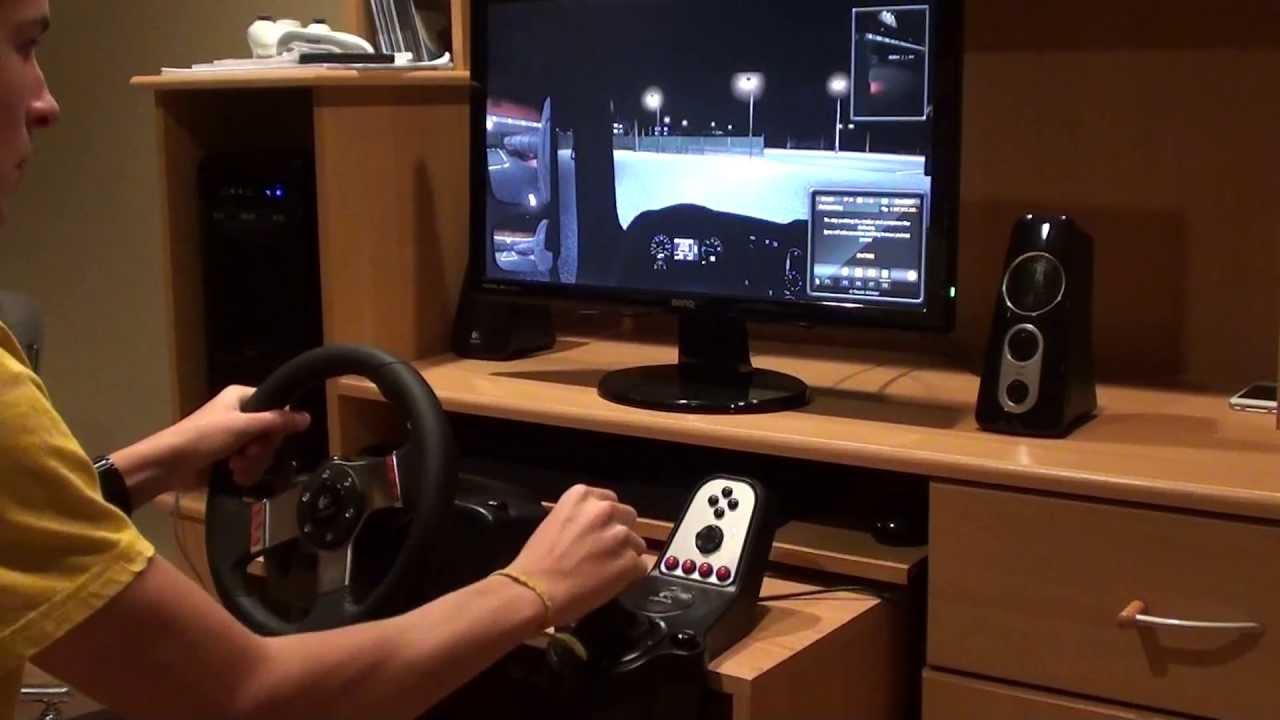 Euro Truck Simulator 2  Max Settings  Logitech G27  YouTube