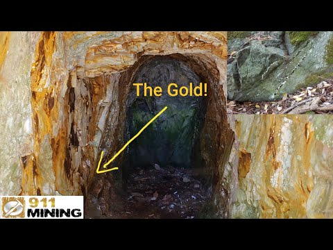 High Grade Gold Left In Old Mines & Finding Loads Of Vuggy Q