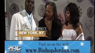 POWER OF PROPHECY TESTIMONIES - NEW YORK, NY - MASTER PROPHET E. BERNARD JORDAN