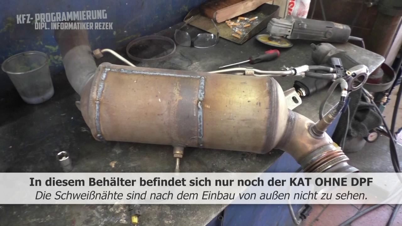 Mercedes Partikelfilter Deaktivierung DPF FAP off