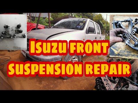 Isuzu front suspension repair