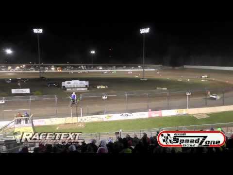 Oshkosh Speedzone - 4-25-2014 - IMCA Modified Feature