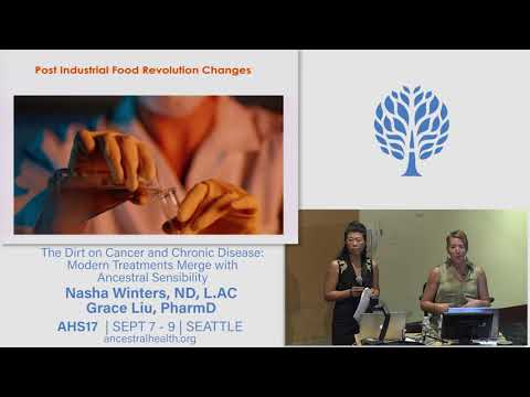 AHS17 The Dirt on Cancer and Chronic Disease - Grace Liu and Nasha Winters