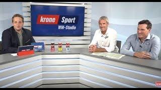 Das Krone WM-Sportstudio - Vor dem Spiel Dänemark gegen Australien