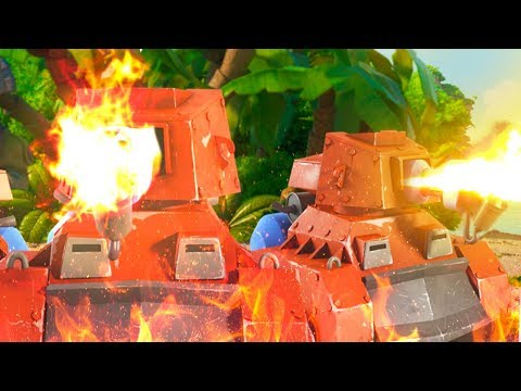 Boom Beach SCORCHER Map Clearing Session!