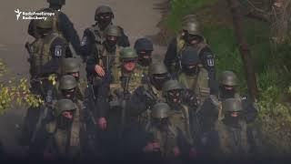 Georgian Security Forces Storm Suspected Militant Hiding Spot