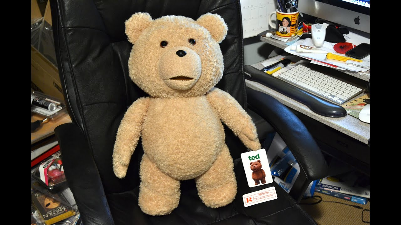 Toys For Ted : Life size scale quot talking ted plush teddy bear toy