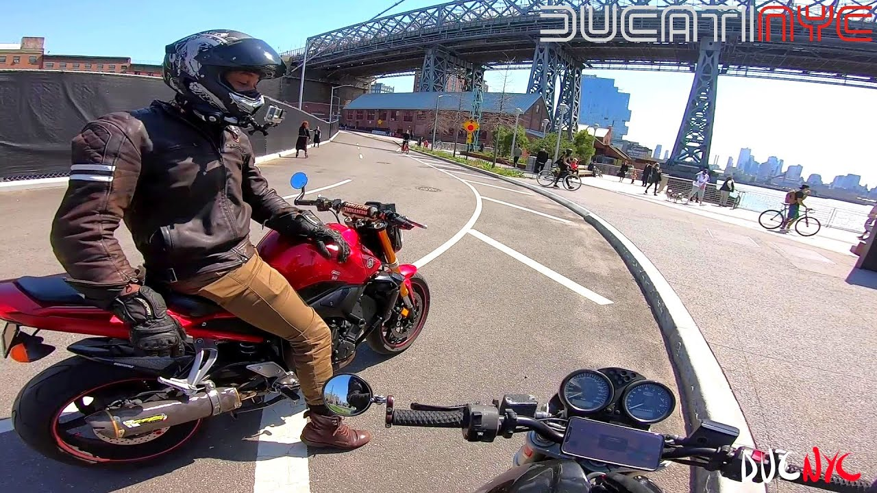 FLIGHT on BEDFORD - how NOT to ride in NYC - the lost tapes with the illestrator - Ducati v1275