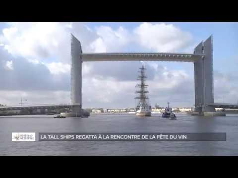 Le Mir, la Tall Ships Regatta et Bordeaux Fête le Vin 2018