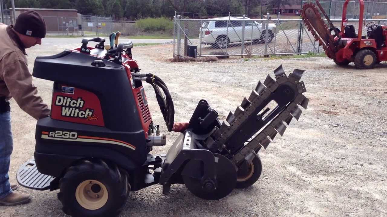 Trencher For Sale >> New Ditch Witch R230 Zahn Trencher For Sale - YouTube