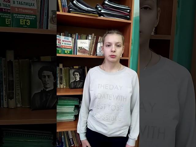 Изображение предпросмотра прочтения – АлисаКирчук читает произведение «В день холодный, в день осенний...» А.А.Блока