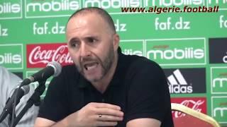 Algérie - Bénin : les réactions après le match ( Belmadi et Bensebaïni)