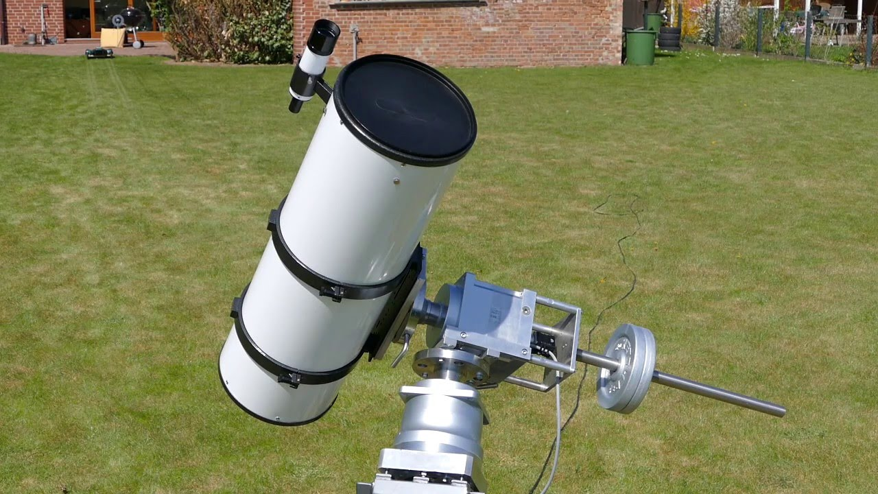 Sky watcher merlin goto refraktor teleskop youtube