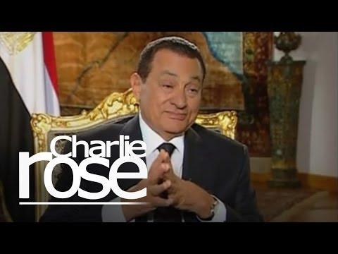 Hosni Mubarak, President of Egypt | Charlie Rose