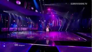 Belgium Eurovision 2012 First Semifinal - Iris - Would you
