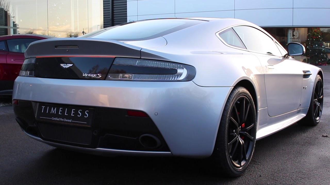 Aston Martin Vantage S Blades Edition Youtube