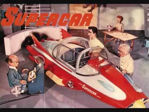 Gerry Anderson's 'Supercar' - Supercar Song + Supercar Twist - 1962 45rpm