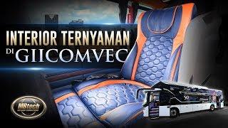 Melihat Interior Kendaraan Ternyaman di GIICOMVEC 2020